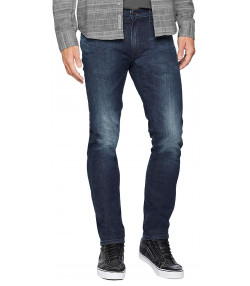 Lee Daren Zip Regular Slim Bolt Blue Blue Denim Jeans | Jean Scene