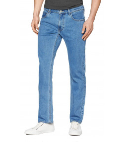 Lee Daren Zip Regular Slim Light Stone Blue Denim Jeans | Jean Scene