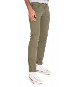 Lee Daren Zip Regular Slim Ivy Green Chino Jeans | Jean Scene