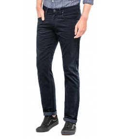 Lee Daren Zip Regular Slim Dark Marine Corduroy Jeans | Jean Scene