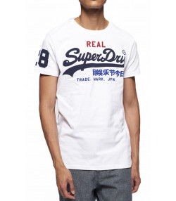 Superdry Vintage Logo Tri Men's T-Shirt Optic | Jean Scene