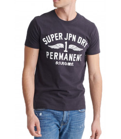 Superdry Carbon Classic Men's T-Shirt Carbon | Jean Scene