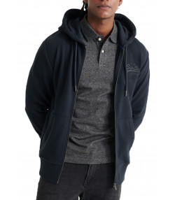 Superdry VL Tonal Injection Hoodie Eclipse | Jean Scene