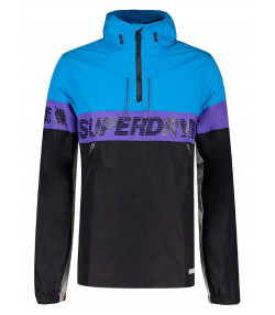 Superdry Overhead Retro 80s Cagoule Men's Jacket Electric | Jean Scene