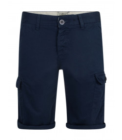 Lee Cooper Casual Mallon Cargo Bermuda Shorts Dark Denim | Jean Scene