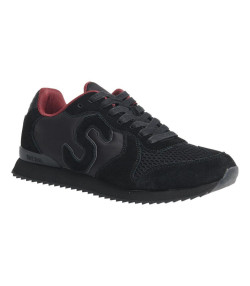 Superdry Men's Retro Runner Shoes Black | Jean Scene