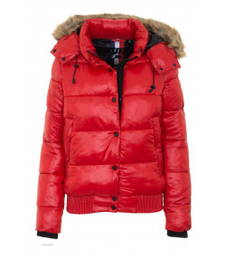 Superdry Jacket Rouge Red | Jean Scene