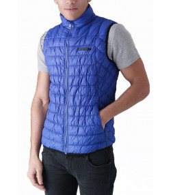 Duck and Cover Men's Norris Quilt Fashion Gilet Bodywarmer Ultra Marine | Jean Scene