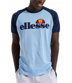 Ellesse Logo T-Shirt Short Sleeve Light Blue | Jean Scene