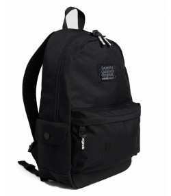 Superdry Hologram Montana Backpack Bag Black | Jean Scene