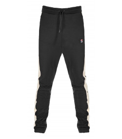 Fila Men's Setter Slim Track Pants Black/Dark Grey | Jean Scene