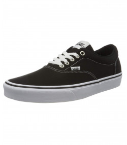Vans Men's Doheny Canvas Shoes Black White | Jean Scene