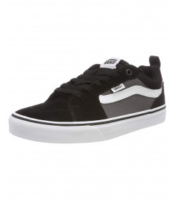 Vans Men's Filmore Suede Shoes Black Pewter | Jean Scene