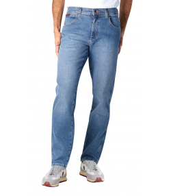 Wrangler Texas Stretch Denim Jeans Smokin Blue | Jean Scene