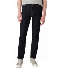 Wrangler Texas Slim Stretch Denim Jeans Dark Rinse | Jean Scene