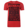 Firetrap Crew Neck Billboard Print T-shirt Red Image