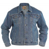 Duke Men's Blue Denim Trucker Jacket | Jean Scene